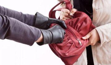 Украл сумку грабитель