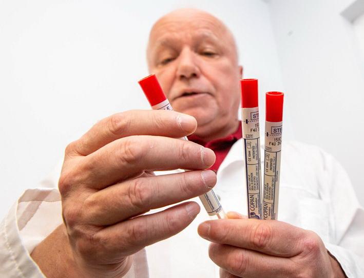 В Витебске запущено производство тест-системы для диагностики коронавируса