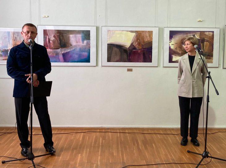 Ольга Погорелова: выставка — открытие в Художественном музее Витебска