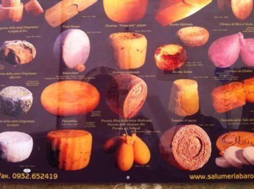 Дегустации сицилийских сыров