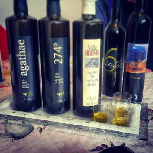 Оливковое масло Сицилии