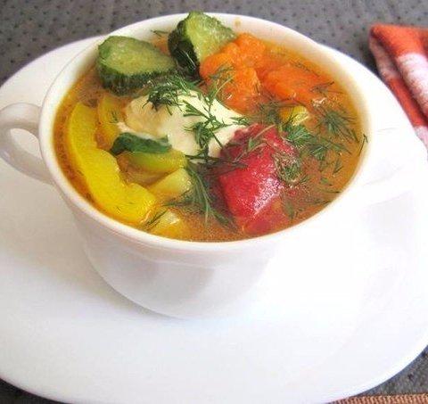 суп для правильного питания