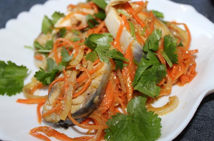 сельдь по корейски с морковью