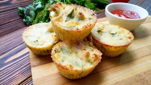 Овощные мини-тортики (рецепт с описанием и фото готовки ...