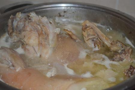 Бюджетный сальтисон из курицы рецепт с фото