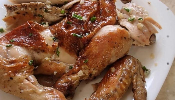 вкусная курица в рукаве в духовке