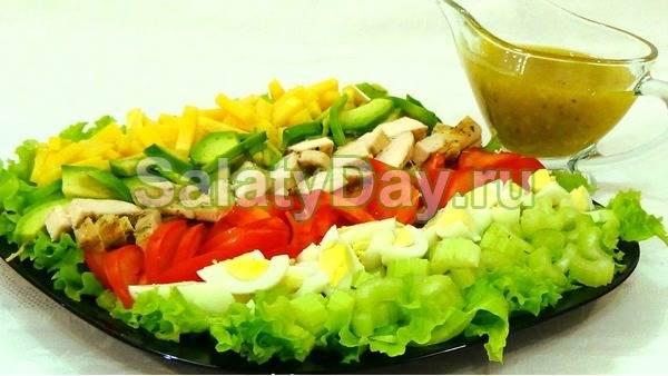 Интересный майонезный соус для праздничных салатов ...