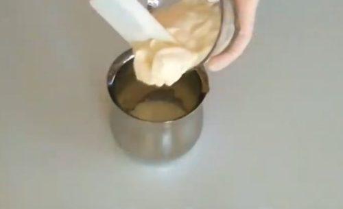 Hogyan készítsünk tükör mázzal zselatinnal