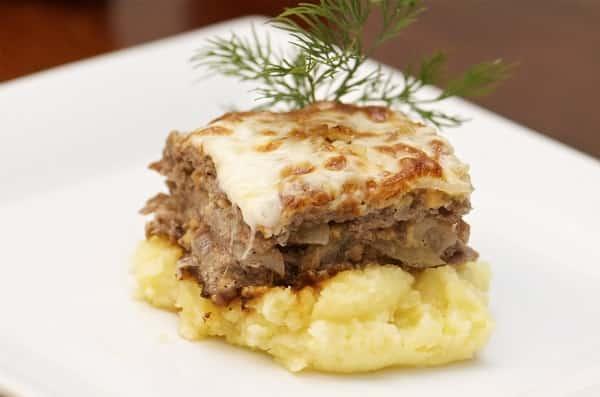 Картофельная запеканка с фаршем в духовке: рецепты с фото ...