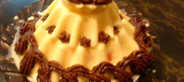 Вкусный Рецепт торт-желе СНЕЖНАЯ КОРОЛЕВА пошагово с фото ...