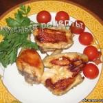 Курица кусочками на сковороде - пошаговый рецепт с фото ...