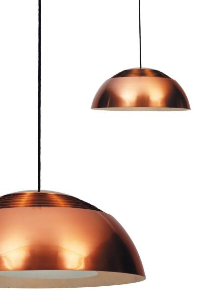 AJ Royal Pendant Lamp, designed in 1960 for the SAS Royal Hotel