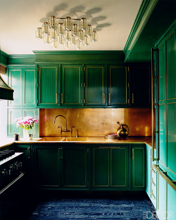 Cameron Diaz' kitchen in Manhattan via This is Glamorous