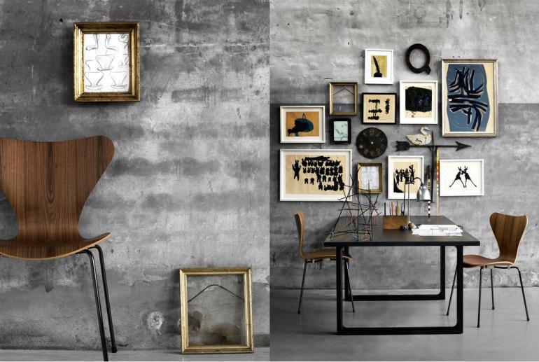 The Series 7 chair by Arne Jacobsen via Adventurous Design Quest