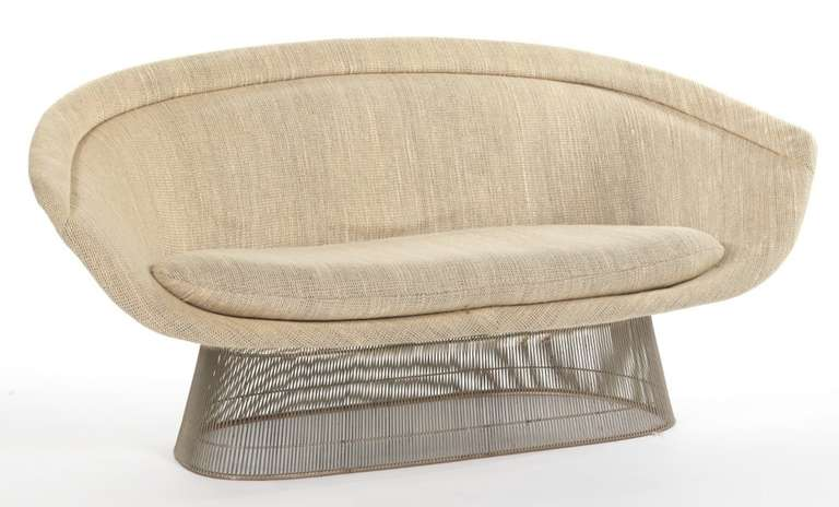 Platner Loveseat which is discontinued from production