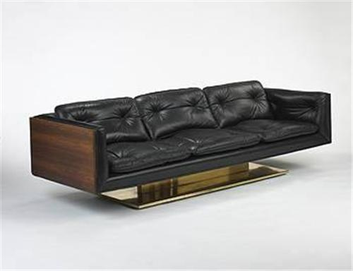 Platner-designed sofa for Lehigh Leopold USA