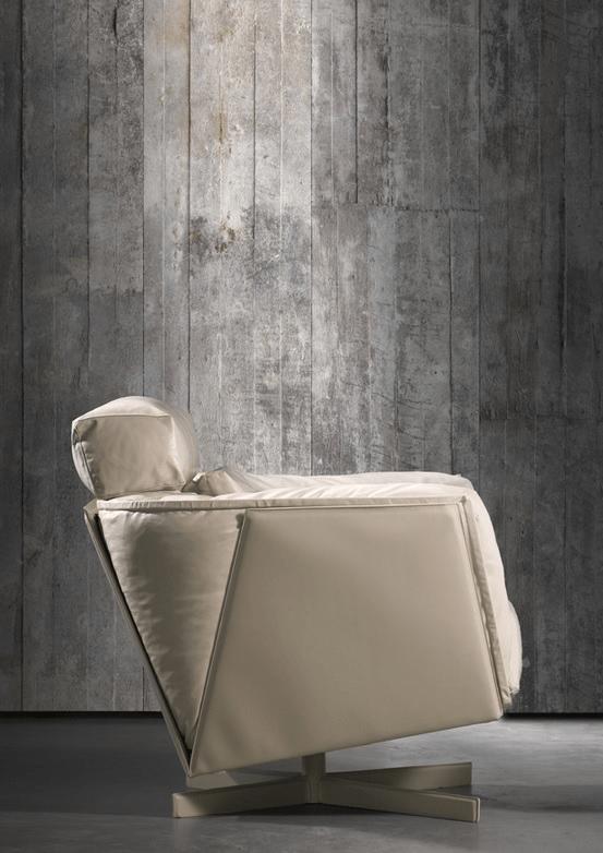 Another Concrete wallpaper by Dutch designer Piet Boon via NLXL