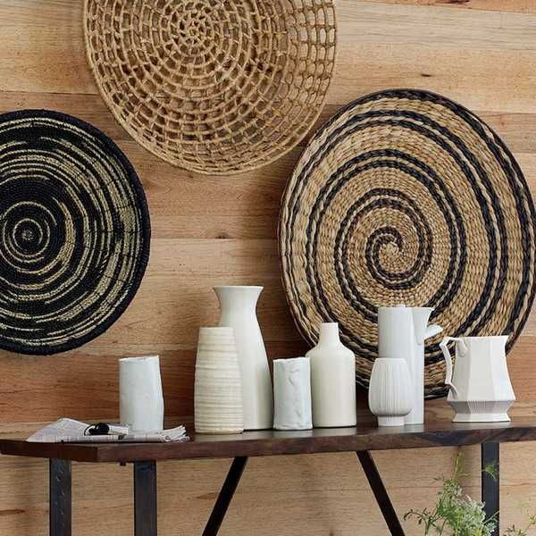 Ethnic Wicker Baskets