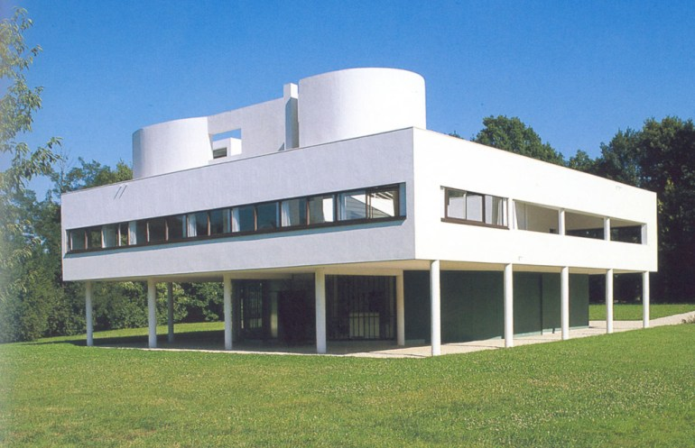Villa Savoye designed in 1929