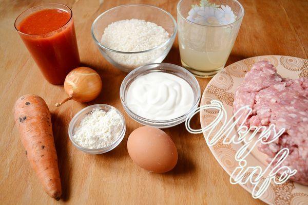 Как готовить ежики в томатном соусе. Ёжики из фарша с рисом в томатном соусе. Ежики из фарша и риса с подливкой в духовке