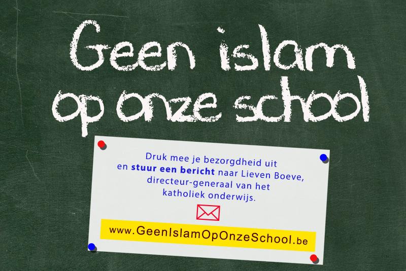 Brussels onderwijs islamiseert aan sneltempo. Vlaams Belang wil islam uit onze scholen weren