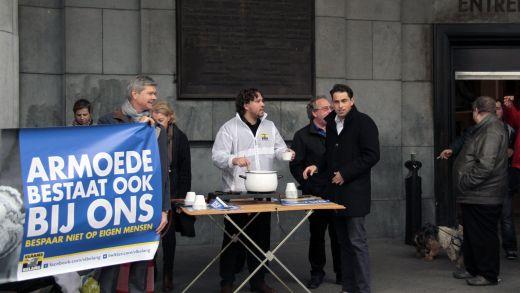 Brusselse regering blijft doelbewust armoede importeren