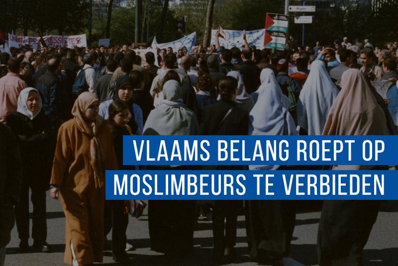 Vlaams Belang pleit voor verbod fundamentalistische Moslimbeurs in Brussel