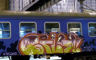 "Vooral Brusselse stations doelwit van vandalisme: ""PS maakt Brussel kapot"""