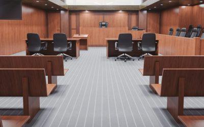 Geen hoofddoeken in de rechtszaal