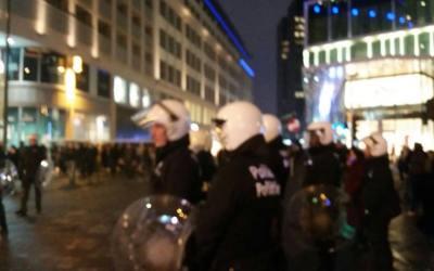 Communiqué de presse – 15 novembre 2017: Nouvelles émeutes à Bruxelles!