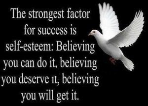 self esteem & success