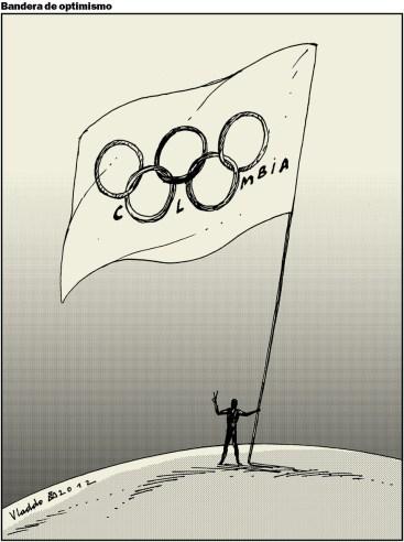 Colombia tuvo su mejor papel en unos Juegos Olímpicos.