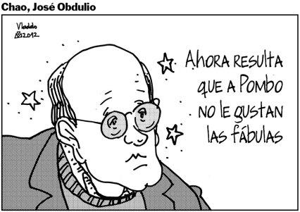 José Obdulio Gaviria perdió su columna en El Tiempo, por escribir columnas con historias falsas.