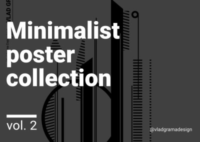 Minimalist poster collection – Experiments Vol. 2