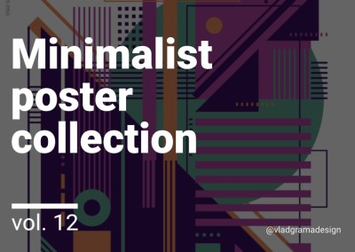Minimalist poster collection – Experiments Vol. 12