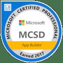 mcsd app builder certified 2017