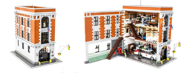 Podrobnosti k setu LEGO Ghostbusters Firehouse Headquarters (75827)