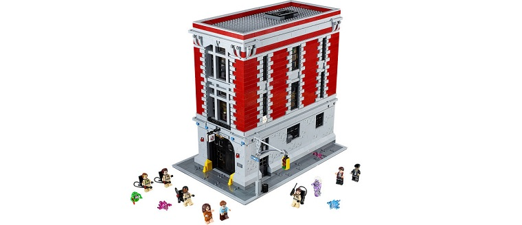 Obrázky k LEGO Ghostbusters Firehouse Headquarters (75827)