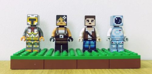 LEGO Minecraft Skin Packs2