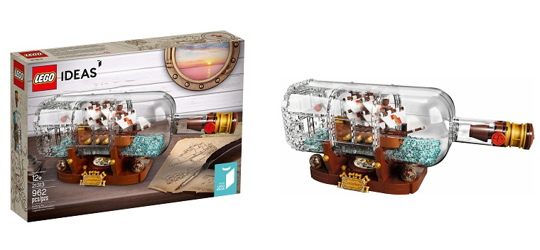 LEGO odhalilo konečnou podobu Ideas setu Ship in a Bottle (21313)