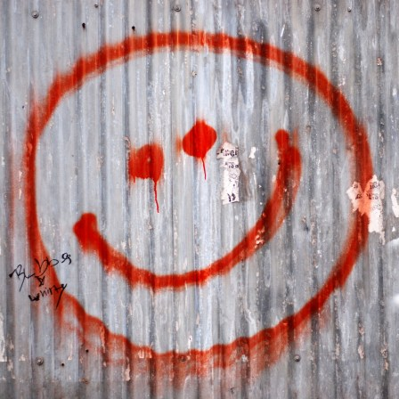 brick wall happy face Optimising Your 404 Page & Creating Opportunities