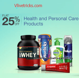 Amazon Health & Personal Care Products Deals Upto 80% Off + 5% Cashback