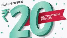 Bookmyshow Free 20Rs Cash For Activating Wallet