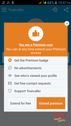 Get Truecaller Premium access trick for Lifetime (proof added)