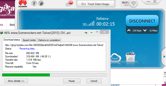 New Reliance 3g Unlimited Gprs Trick October 2015