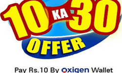 Indiatimes Shopping Deals : Pay Rs. 10 Get Rs. 30 Oxigen Wallet Cash back(again)