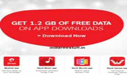 Airtel Official Free 1.2 gb 3G Data for Downloading 4 Apps June 2016