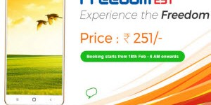 Freedom251 Android Smartphone at 251 rs only (Update)