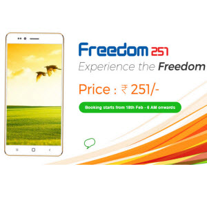 freedom251 mobile phone