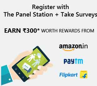 How to Earn Rs. 300+ Amazon,Paytm,Freecharge Vouchers by Survey